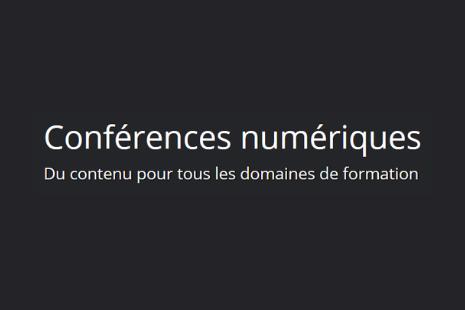 Conférences numériques
